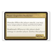 Legendary Buttkicker Decal