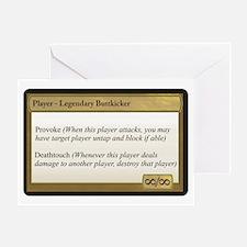 Legendary Buttkicker Greeting Card