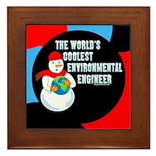 Cool Environmental Engineer Framed Tile