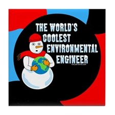 Cool Environmental Engineer Tile Coaster