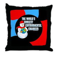 Cool Environmental Engineer Throw Pillow