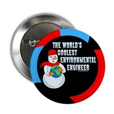 "Cool Environmental Engineer 2.25"" Button"