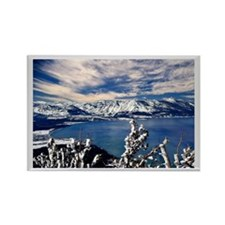 Lake Tahoe in Winter Rectangle Magnet