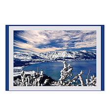 Lake Tahoe in Winter Postcards (Package of 8)