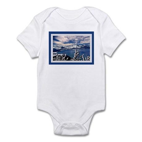 Lake Tahoe in Winter Infant Bodysuit