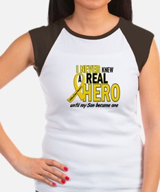 Never Knew A Hero 2 GOLD (Son) Women's Cap Sleeve
