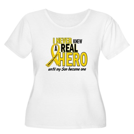 Never Knew A Hero 2 GOLD (Son) Women's Plus Size S