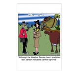 Weather Indicators Postcards (Package of 8)