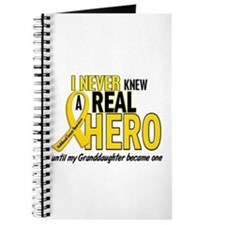 Never Knew A Hero 2 GOLD (Granddaughter) Journal