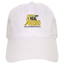 Never Knew A Hero 2 GOLD (Granddaughter) Baseball Cap
