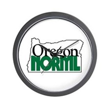 Oregon NORML Logo Wall Clock
