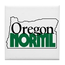 Oregon NORML Logo Tile Coaster