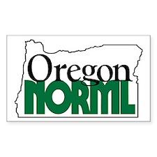 Oregon NORML Logo Rectangle Decal