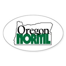Oregon NORML Logo Oval Decal