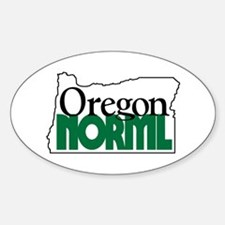 Oregon NORML Logo Oval Decal