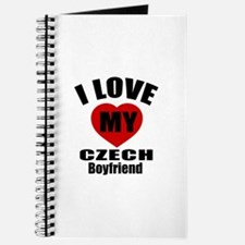 I Love My Czech Boyfriend Journal