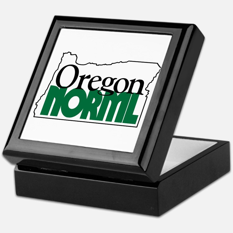 Oregon NORML Logo Keepsake Box