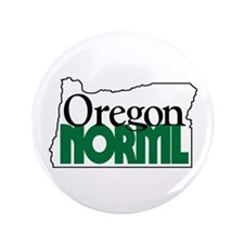 "Oregon NORML Logo 3.5"" Button (100 pack)"