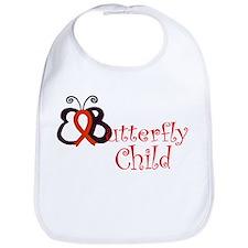 <b>EButterfly Child Bib