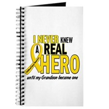 Never Knew A Hero 2 GOLD (Grandson) Journal