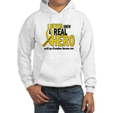Never Knew A Hero 2 GOLD (Grandson) Hoodie