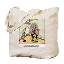 Zapped Inspector Tote Bag