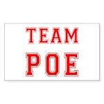 Team Poe Rectangle Sticker