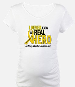 Never Knew A Hero 2 GOLD (Brother) Shirt