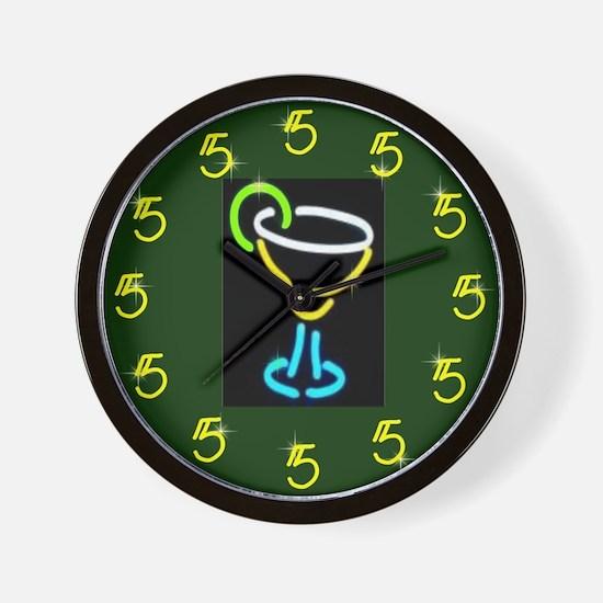 It's Always 5:00 Wall Clock