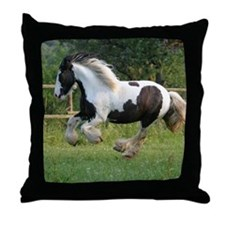 Gypsy Horse Throw Pillow