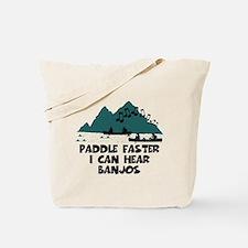 Funny slogan Deliverance Tote Bag