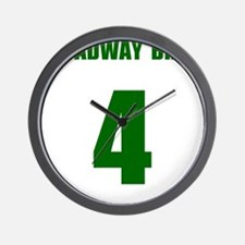 Cool Broadway joe Wall Clock