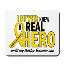 Never Knew A Hero 2 GOLD (Sister) Mousepad