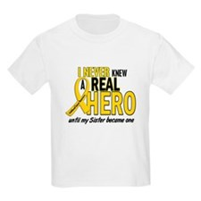Never Knew A Hero 2 GOLD (Sister) T-Shirt