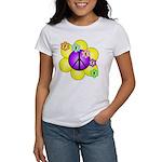 Peace Blossoms /purple Women's T-Shirt