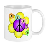 Peace Blossoms /purple Mug