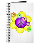 Peace Blossoms /purple Journal