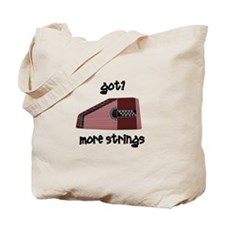 Funny Autoharp Tote Bag