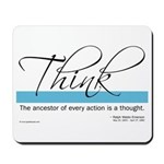 Think Quote - Mousepad