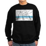 Think Quote - Sweatshirt (dark)