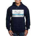 Think Quote - Hoodie (dark)