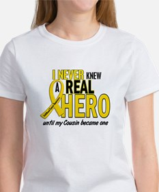 Never Knew A Hero 2 GOLD (Cousin) Tee