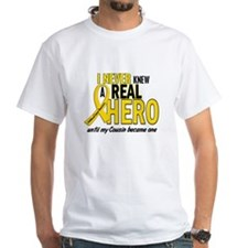 Never Knew A Hero 2 GOLD (Cousin) Shirt