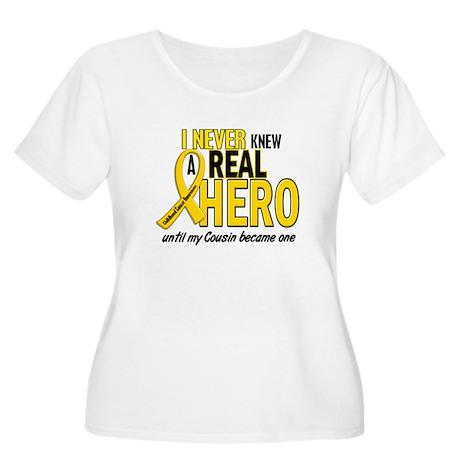 Never Knew A Hero 2 GOLD (Cousin) Women's Plus Siz