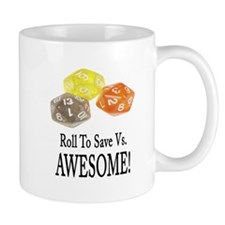 Save Vs AWESOME Mug