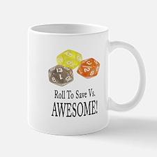 Save Vs AWESOME Mug