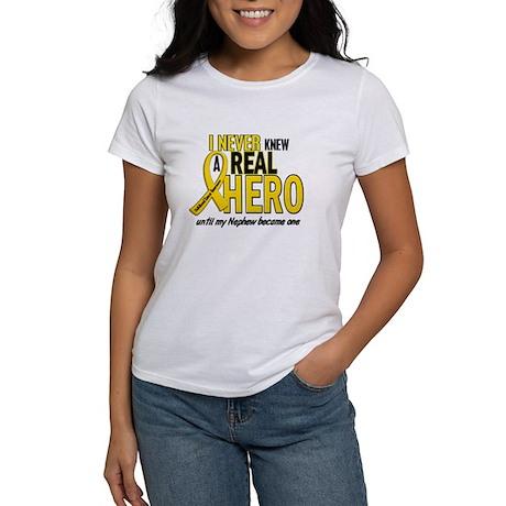 Never Knew A Hero 2 GOLD (Nephew) Women's T-Shirt