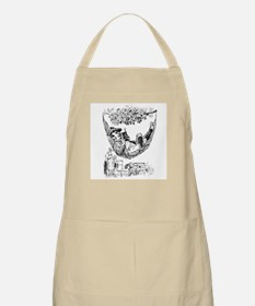 Reading and Drinking BBQ Apron