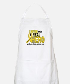 Never Knew A Hero 2 GOLD (Niece) BBQ Apron