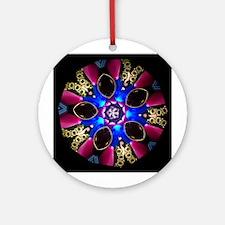 Royal Treasures Kaleidoscope Ornament (Round)